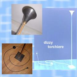 dizzy torchiere
